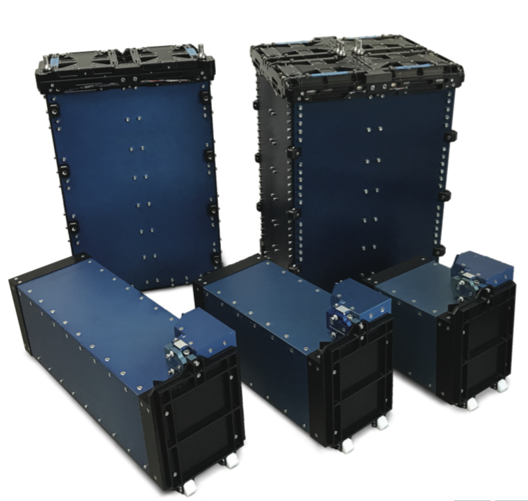 ISIS cubesat deployer on satsearch