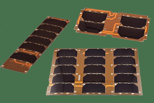 ISIS 1U cubesat solar panel on satsearch